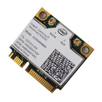 Wholesale laptop mini pcie - Wholesale- Laptop wireless lan card for Intel Centrino Advanced-N 6235 6235ANHMW WIFI card Bluetooth 4.0 Half MINI PCIe 300 Mbps