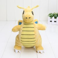 Brinquedo de peluches de 22cm Dragonite Cute Collectible Soft Charizard Boneca de animais recheados Presentes de Natal Novo