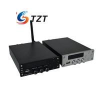 ingrosso amp channel-Freeshipping TDA7498L Amplificatore di potenza HIFI digitale 2x70W Audio AMP Regolazione tripla degli acuti Dual Channel