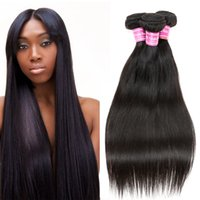 Cozy Cheap Straight Indian Remy Weave 3 Bundles Unprocessed Indian Virgin Extensões de Cabelo Dyeable Indian Straight Black Hair Weft