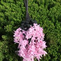 Wholesale Filler Flowers - 1pc lot Soft Touch Artificial EVA Hyacinth Flower Long Stem Floral Fillers for Floral Arrangement Home Decoration Free Shipping