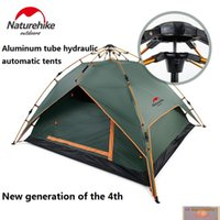 Wholesale Hydraulic Construction - NatureHike hydraulic automatic folding tents 3-4 people 0utdoor rainproof camping hiking quick automatic Set up opening tent