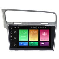 "Wholesale Golf Navi - 10.1"" Octa-core Android 6.0.1 System Car DVD Player For Volkswagen Golf 7 2013+ GPS Navi Stereo 2G RAM 32G ROM WIFI 4G OBD DVR 4K Video USB"
