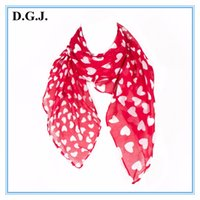 Wholesale Love Fashion Scarves - 2017 NEW Childrens New Design Fashion Character Red Love Pattern Printing Girls Shawls Wrap Size:100*80cms Wholesale Foulard Headband