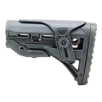 Wholesale Gl Shock Buttstock - FAB Defense GL-SHOCK Tactical Hunting Gun Accessories Absorbing Buttstock for M4 M16 Black Color