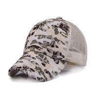 Wholesale Korean Stars Cap - Ladies Head Hat Korean Star With the Summer Fashion Camouflage Cool Comfortable Breathable Outdoor Baseball Cap Sunscreen