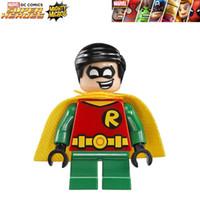 Wholesale Bane Toys - WholeSale 20pcs MIGHTY MICROS Robin Bane Ultron Batman Minifigures Super Heroes Avengers Justice League DIY Building Blocks Kids Toy Gifts