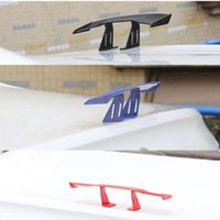 Wholesale Vinyl Installation Car - Mini Universal Decorative Spoiler Wing for All Cars No Drilling Needed with Double-sided Tape Installation Plastic Material Three colors