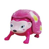 Wholesale Rolling Monkey - Interactive Pet Hedgehog with Multi-modes Lights Sounds Sensors Light-up Eyes Wiggy Nose Walk Roll Headstand Curl up Giggle Toys for Kids
