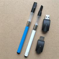 Wholesale E Cig Refillable - O.pen CBD oil clearomizer pen bud touch vaporizer refillable e cig starter kits mini CE3 vape pen with Tin box packaging