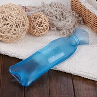 Wholesale Hot Cold Water Color - New Fashion Transparent Candy Color Hot Water Bag Cold Therapy (Color: Blue)