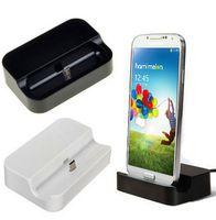 Wholesale Galaxy S3 Docking - ShenZhen Factory micro usb desktop opladen dock voor samsung galaxy s4 s3 i9300 all micro usb v8