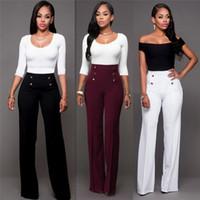 d59d767f4fb91 Venta al por mayor de Mujer Pantalones Anchos Elegantes - Comprar ...