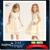 Dress Gowns online - CHILDREN'S CLOTHING 2017 Baby Tutu Skirt Baby Clothes Children Kids Clothing Baby Girls Clothes Princess Girl Dresses Lace Bow Knee-Length