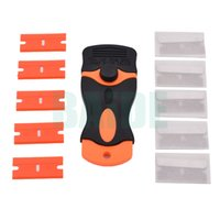 Wholesale Screen Glue Remover - Hand Portable Safety Scrapers For LCD Screen Glass Cleaning Sticker Glue Remover Glass Scraper Cleaner Knife 50pcs lot
