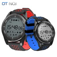 Wholesale Russian Meter - new Original DT NO.1 F3 Luminous Smart Watch Altitude Meter Barometer Mileage IP68 Waterproof Pedometer Smartwatch for IOS Android phone