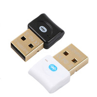 Mini USB Bluetooth V4.0 Dongle inalámbrico de doble modo de oro Gold Pated Connector CSR 4.0 Transmisor de audio adaptador para Win10 / 7/8 / XP