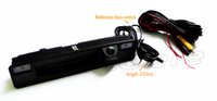 Wholesale ford handle - Trunk handle camera for 2015 2016 FORD Focus HD 600TVL car rearview camera Night vision waterproof
