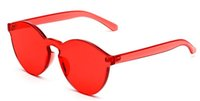 Wholesale Sun Candy - Fashionable sunglasses Women Sunglasses Cat Eye Shades Luxury Designer Sun glasses Integrated Eyewear Candy 11 Color
