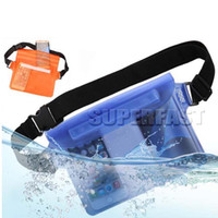 Wholesale Functional Water Brands - Waterproof Pouch Functional Swimming Bag For Galaxy ON 5 Adjustable Portable Bag with OPP Package