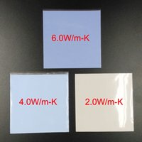 Wholesale Thermal Cpu Cooler - 1 piece 100*100*0.5mm Thermal Pads Silicone Cooling For GPU CPU IC Repairing Mobile Laptop Computer etc.
