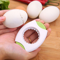 Wholesale kitchens products resale online - Egg shell cutter Easily break open hull Egg Topper The kitchen essential creative products Multicolor randomly send