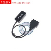 Wholesale Elm327 Ipad - 2016 OBD Checker ELM327 WIFI OBD Auto checker ELM 327 WIFI Car Diagnostics Tool for Apple iPad iPhone iPod Touch