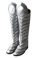 Wholesale Just Boots Men - Custom Made cos Boots Gambit X-Men Remy Etienne Shoes Cosplay Boots Any Size For Unisex Just BOOTS PU