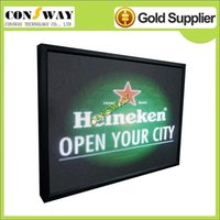 Wholesale advertising led display sign with size mm and RGB full color