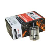 Wholesale Wholesale Cotton Filling - The Troll RTA Atomizer Clone Wotofo Tank 24mm 5ml Easy Top Filling Huge Cotton Hole for Easy Wicking Electronic Cigarette Atomizer DHL free