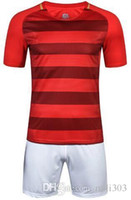 Wholesale Quality Printing Group - high quality Custom team football training suit group purchase custom men's Jersey Kit printing S-2XL