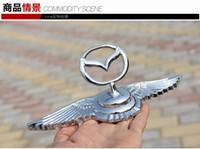 emblèmes de badges mazda achat en gros de-Insigne d'emblème de voiture 3D mazda