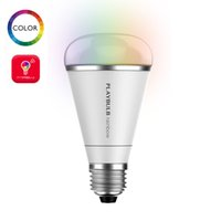 светодиодная лампа лампы светлый цвет меняется оптовых-Wholesale-Smart Stylish RGB Color Changing LED Light Bulb Lamp Decorative Multi Colors Remote Control MIPOW PlayBulb Rainbow 5W E26 E27