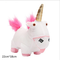 Wholesale Minion Unicorn Stuff Toy - 22cm*18cm Despica ble me unicorn minion stuffed & plush animals stuffed animal plush toy, big movie plush toy