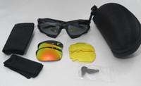 Wholesale bike sports jacket - 100% New good Racing Jacket Cycling Bicycle Bike Outdoor Sports Sun Glasses Eyewear Goggle Sunglasses 3 color lens