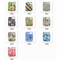 Wholesale Cloth Diapers Wholesale For Newborns - 10pcs lot Newborn Print PUL Design Hook&loop Cloth Diaper Cover Suede Reusable Soft Diapers For Baby Good Care