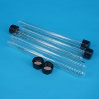 Wholesale Wholesale Test Tubes Caps - Wholesale- Lot(5) 25ml 18x180mm Clear Glass Test Tube Round Bottom Graduated with Screw Cap