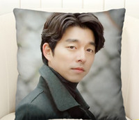 Wholesale korea drama Goblin Guardian The Lonely and Great God boyfriend Gong Yoo Square Pillows Customized gifts