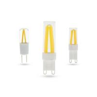 ingrosso la migliore qualità ha condotto le lampadine-5x Miglior garanzia di qualità 2 anni G4 LED Lampadina G9 Luce filamento AC220V Dimmerabile g9 mais Lampada lampadina 3W 4W 5W Lampada chiara