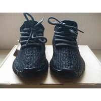 Wholesale Tennis Children - Original Kanye West Y Boost 350 Infant 350 Children Shoes Y 350 BOOST Baby Shoes Turtle Dove Pirate Black BB5354 BB5355 With Box