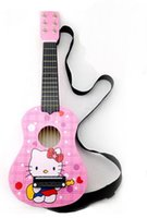 Wholesale 21 quot Pink Childrens Acoustic Mini Guitar Kids Music Instruments String Guitar Hot Multi color selection