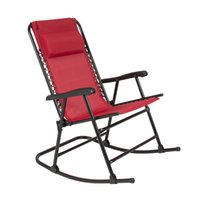 Wholesale New Red Folding Rocking Chair Foldable Rocker Outdoor Patio Furniture