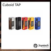 Wholesale Pressure Technology - Joyetech Cuboid TAP TC Box Mod 228W Power Bank System TAPTEC Technology Pressure-sensitive Capability Upgradeable Firmware 100% Original