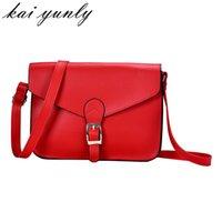 Wholesale Quality Imitation Handbags - Wholesale- 1PC Hight Quality Hot Fahsion Women Imitation Leather Shoulder Bag Satchel Handbag Retro Messenger Crossbody Bag Nov 25