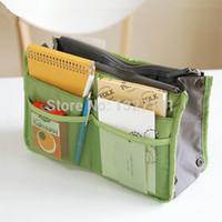 Wholesale Women S Fabric Handbags - Insert Handbag Organiser Purse Large liner Organizer Bag Amazing Women Travel PTCT