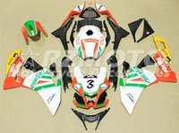 Wholesale Motorbike Aprilia Fairings - New Motorcycle Fairing Kit For Aprilia RS4 125 RS125 2012 2013 2014 2015 Year 12 13 14 Injection ABS Body Kit Motorbike Cowlings Number 3