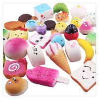 Wholesale Cheap Quality Bags - High Quality Kawaii Squishies Rilakkuma Donut Cute Phone Straps Bag Charms Slow Rising Squishies Jumbo Buns Cheap Charms Handbag Squishy