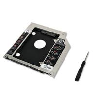 a1278 hdd al por mayor-Al por mayor- 9.5mm SATA a sata 2nd HDD SSD 2.5