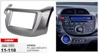 Wholesale Honda Fit Car Radio - CARAV 11-118 CAR Radio installation dash install fitting trim kit for HONDA Fit, Jazz 2008-2013 (Left Wheel) 2-DIN