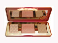 Wholesale Hot Glow - Dropshipping in stock New Arrivals hot new Sweet Peach Glow infused Bronzers & Highlighters makeup blush palette